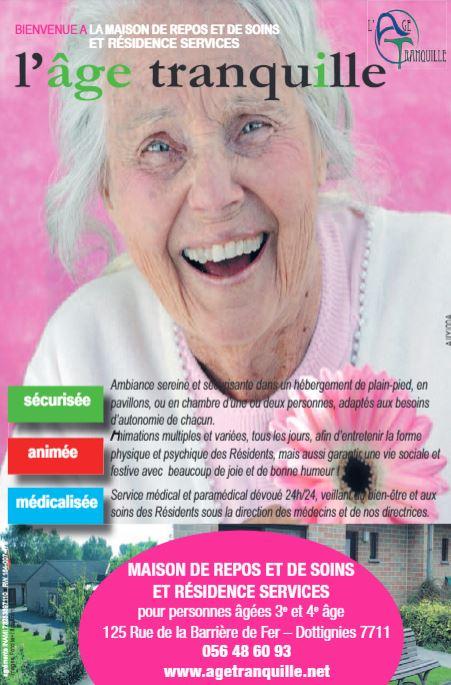 Annonce publicitaire L'AVENIR