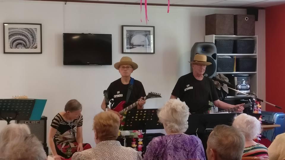 Concert des Chtimides à l'Age Tranquille le 19/04/2018