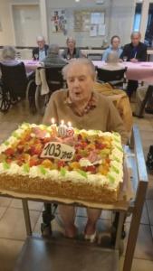 103 ans