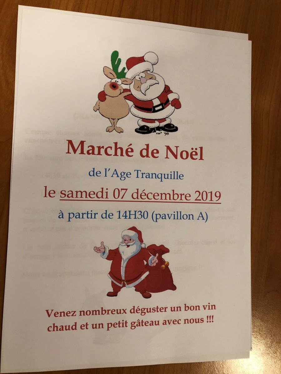 Le marché de Noël 2019
